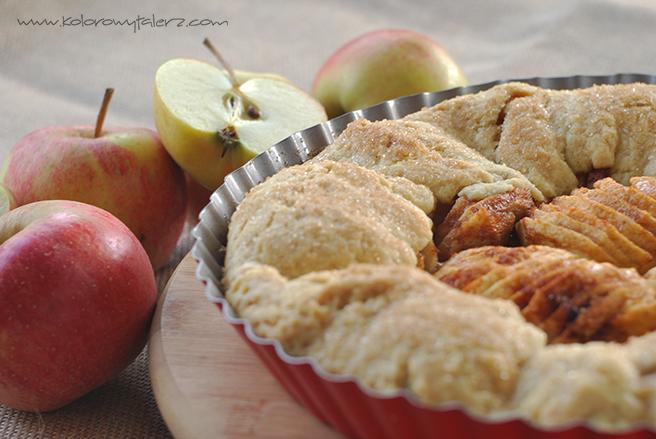 wykwintna tarta zjabłkami