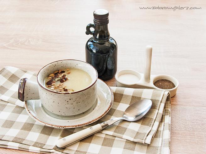 Zupa krem zbiałych warzyw