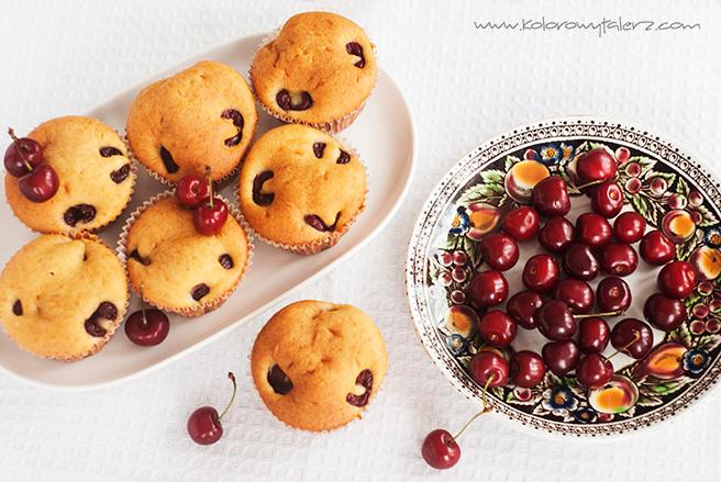 muffinki zczereśniami