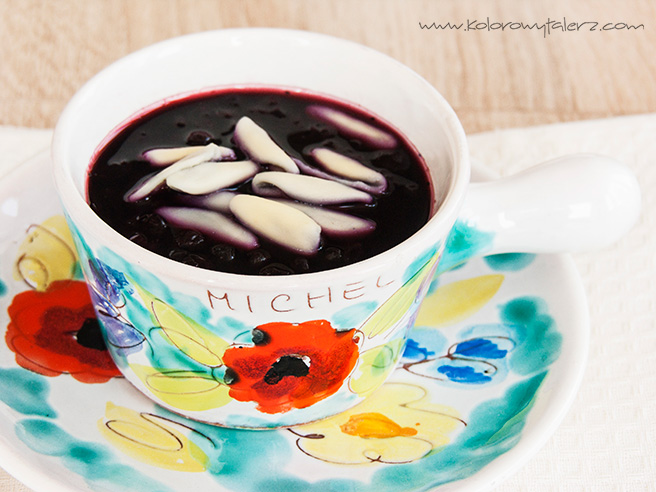 Jagodowa zupa owocowa