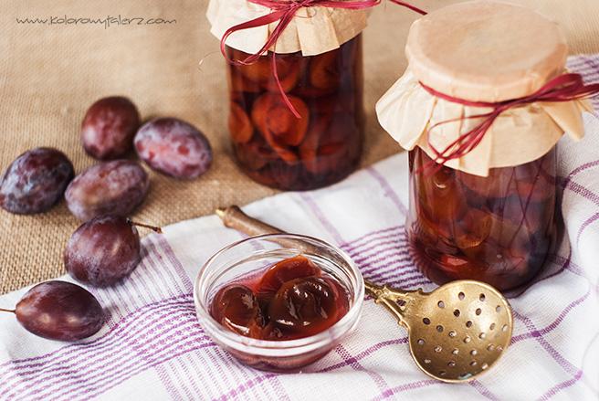 śliwki wzalewie słodko-kwaśnej