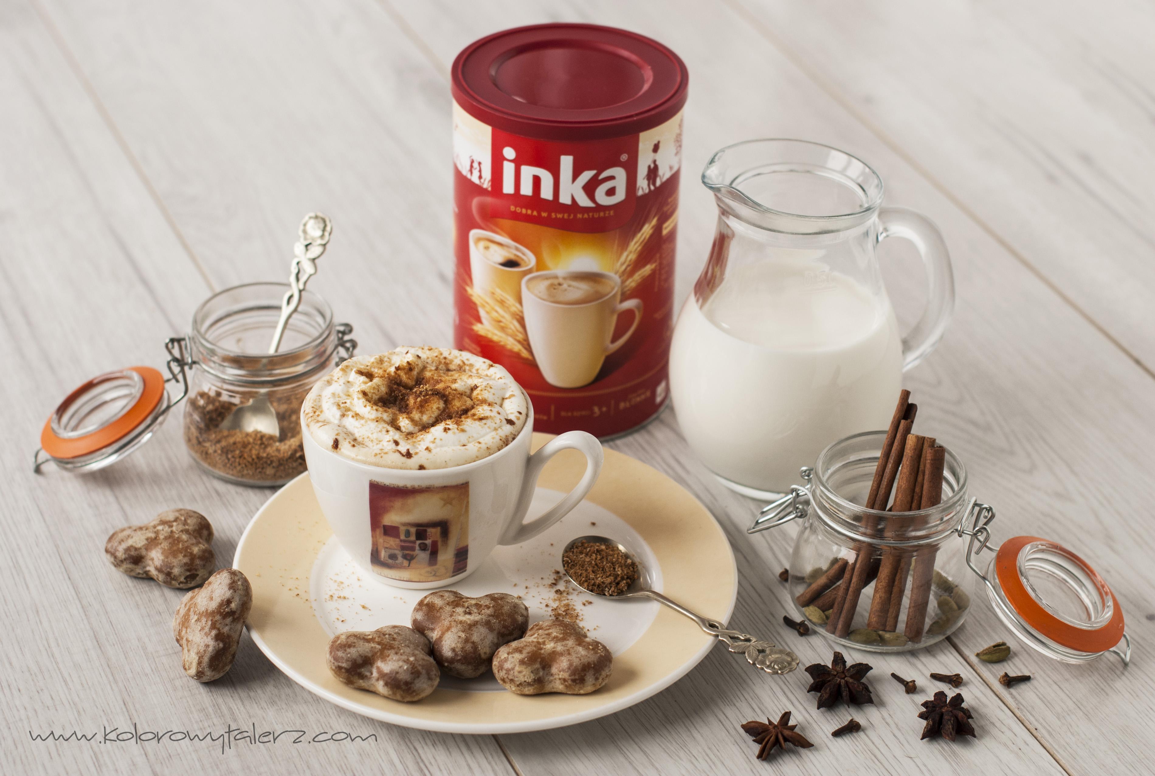 kawa inka zpiernikową nutką