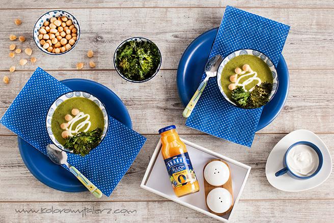 zupa krem zzielonych warzyw