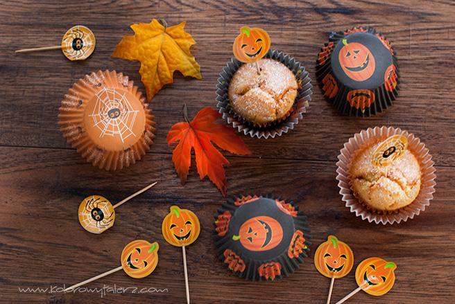 muffiny dyniowo-pomarańczowe
